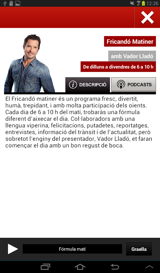 RAC105 Oficial- screenshot