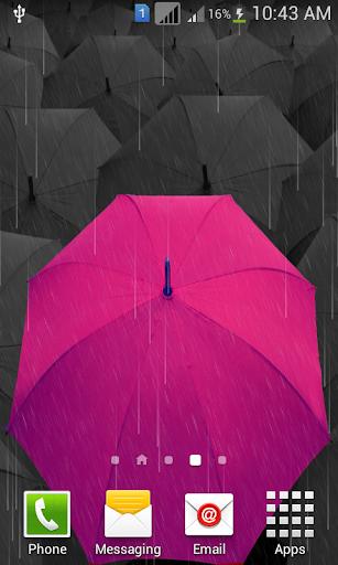 Rainy Season Live Wallpaper