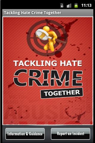 Tackling Hate Crime Together- screenshot