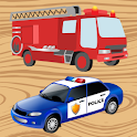 Wood Puzzles Vehicles icon