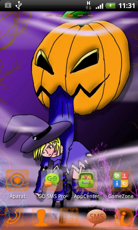 Halloween - GO Launcher Theme- screenshot