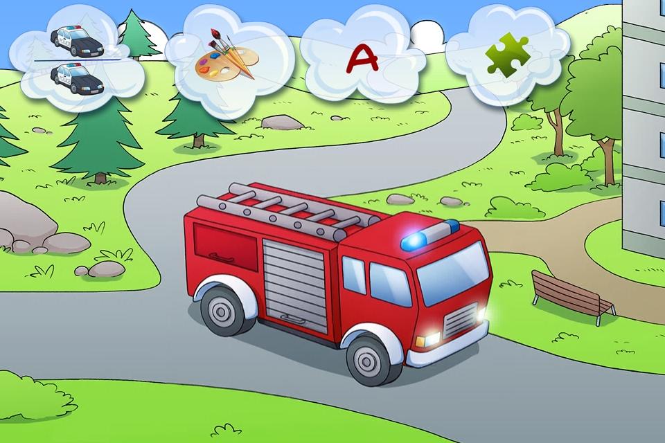 amazing cars kids story book screenshot