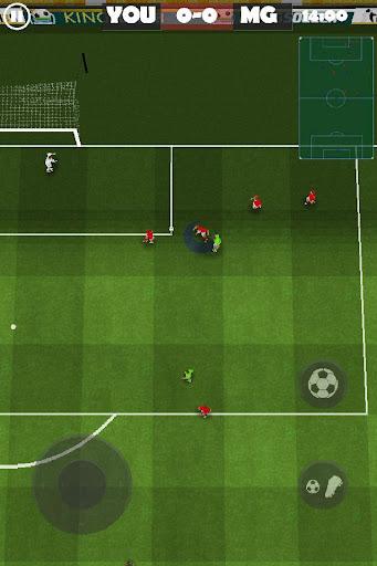簡單的足球挑戰賽