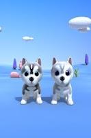 Screenshot of Talking Husky Dog