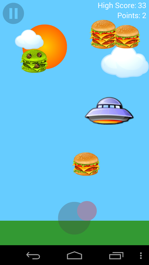 Burger UFO- screenshot