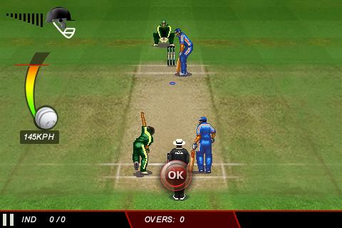 ICC Cricket World Cup 2011 - screenshot