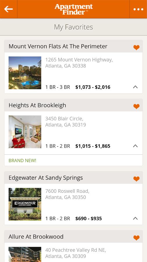 Apartment Finder - screenshot