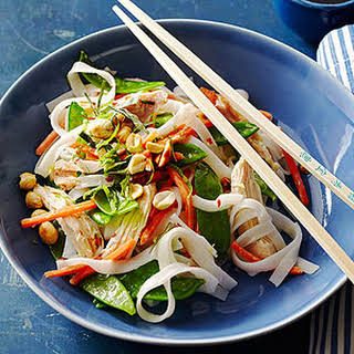 Coconut Chicken Noodle Bowl.