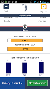 Franchises to Buy - screenshot thumbnail