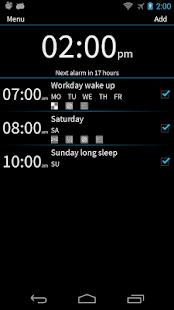 I Can't Wake Up! Alarm Clock - screenshot thumbnail