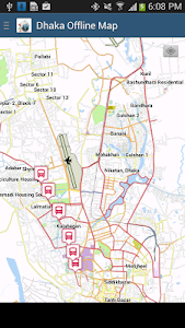 Dhaka Offline Map screenshot 2