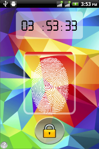 Thumb Scanner Screen Lock