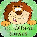 100 Animal Sounds Quiz icon