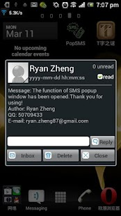 Pop SMS - screenshot thumbnail
