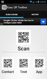 Easy QR Code Toolbox - screenshot thumbnail