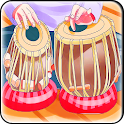 Tabla music instrument icon