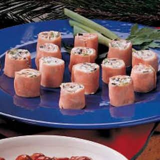 Cream Cheese Ham Roll-Ups.