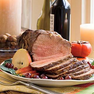 Roast Pork With Garlic-Onion Gravy.