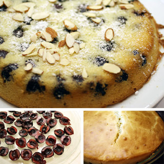 Cheated Cherry Clafoutis