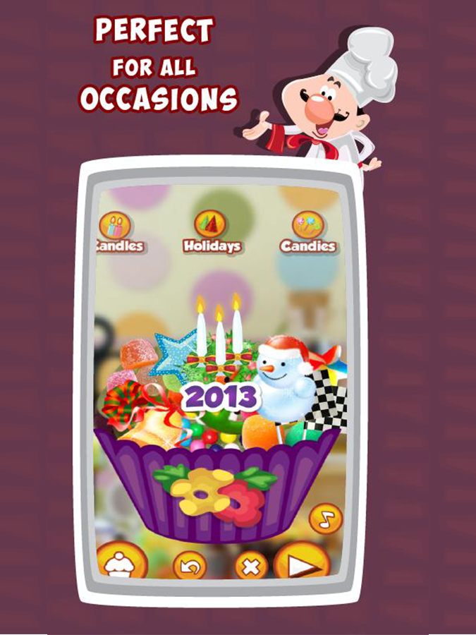 Cup Cake Maker- Cooking Game - screenshot