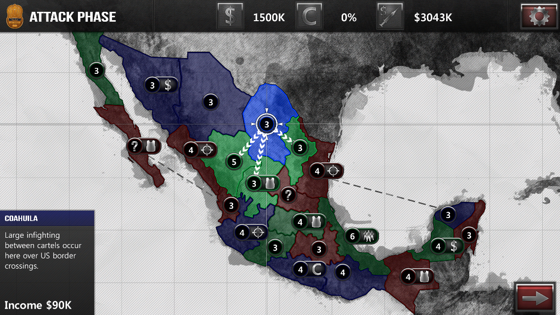 NarcoGuerra - screenshot