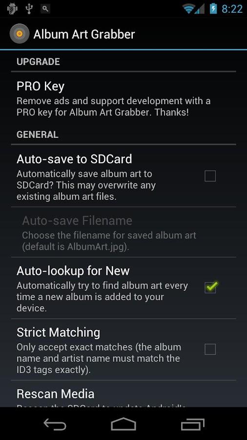 Album Art Grabber- screenshot