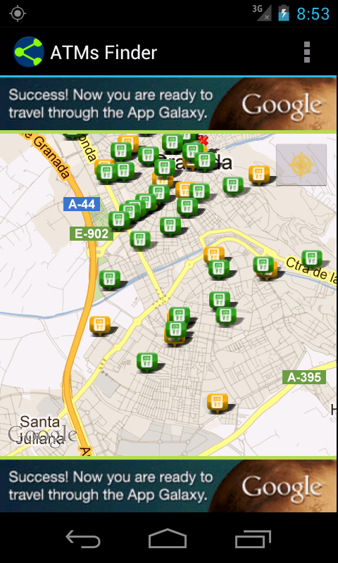 ATMs Finder- screenshot