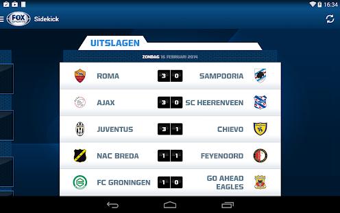 FOX Sports NL Screenshot 21