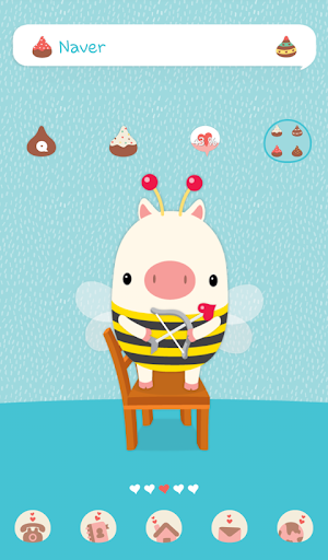 玩個人化App|the little piggy dodol theme免費|APP試玩