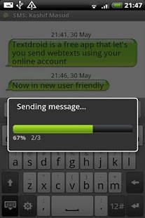 Textdroid - screenshot thumbnail