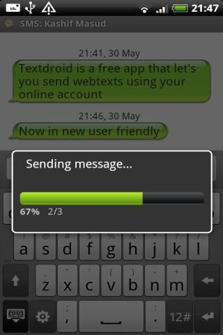 Textdroid - screenshot