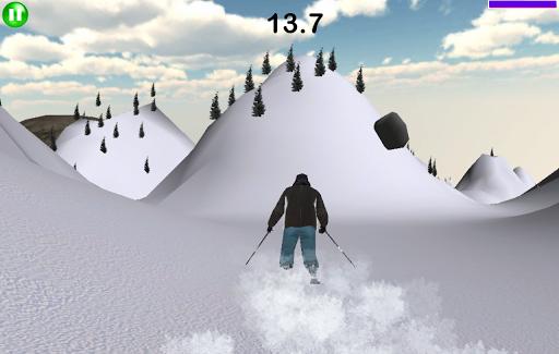 スキーシミュレータ