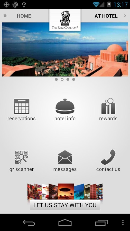 The Ritz-Carlton Hotels - screenshot
