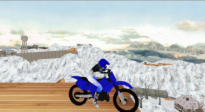 Motorbike Motocross Racing 3D- screenshot