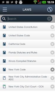 SmartLeges Law Reader - screenshot thumbnail