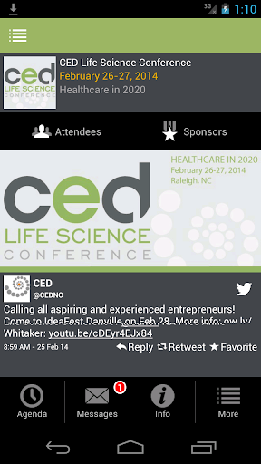 CED Life Science Conf. 2014