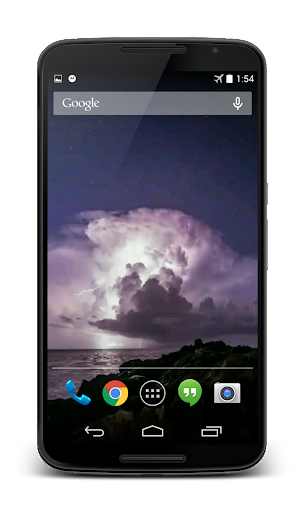 Storm Video Live Wallpaper 3D