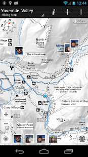 GPS on ski map - screenshot thumbnail