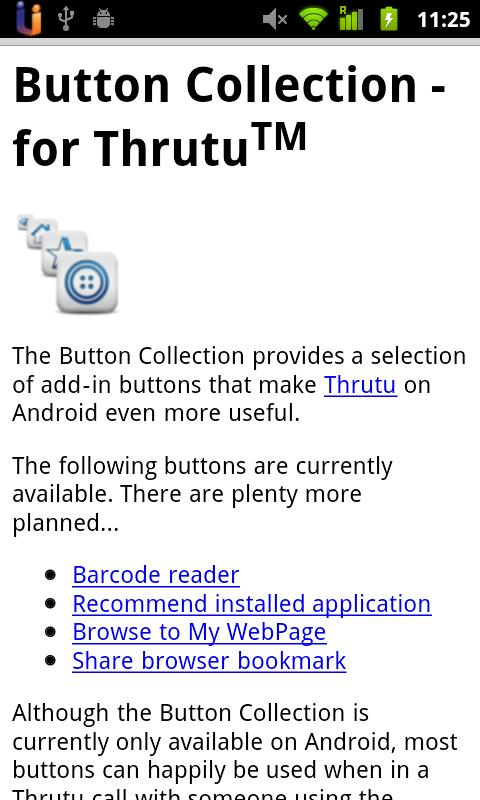 Button Collection- screenshot