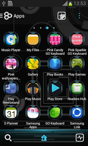 玩個人化App|霓虹藍科技圍棋主題免費|APP試玩