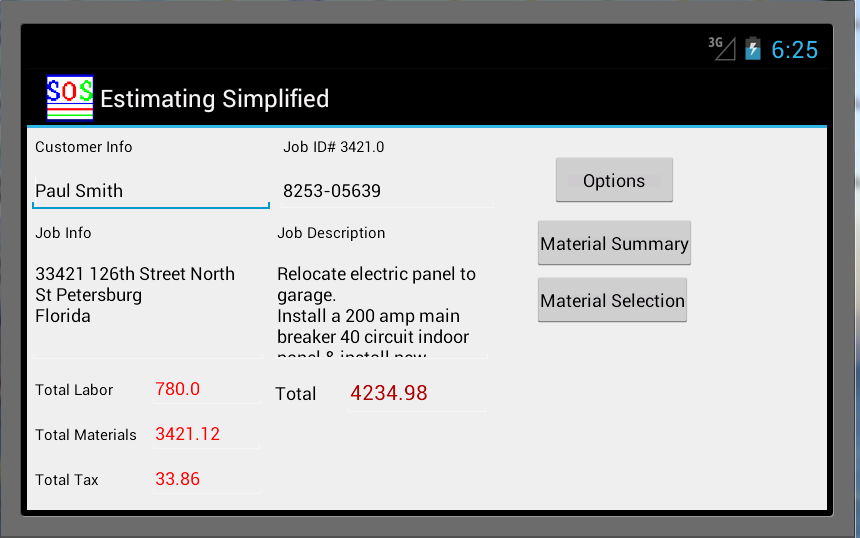 Estimating Simplified- screenshot