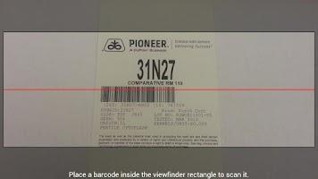 Screenshot of Pioneer Field360™ Plantability