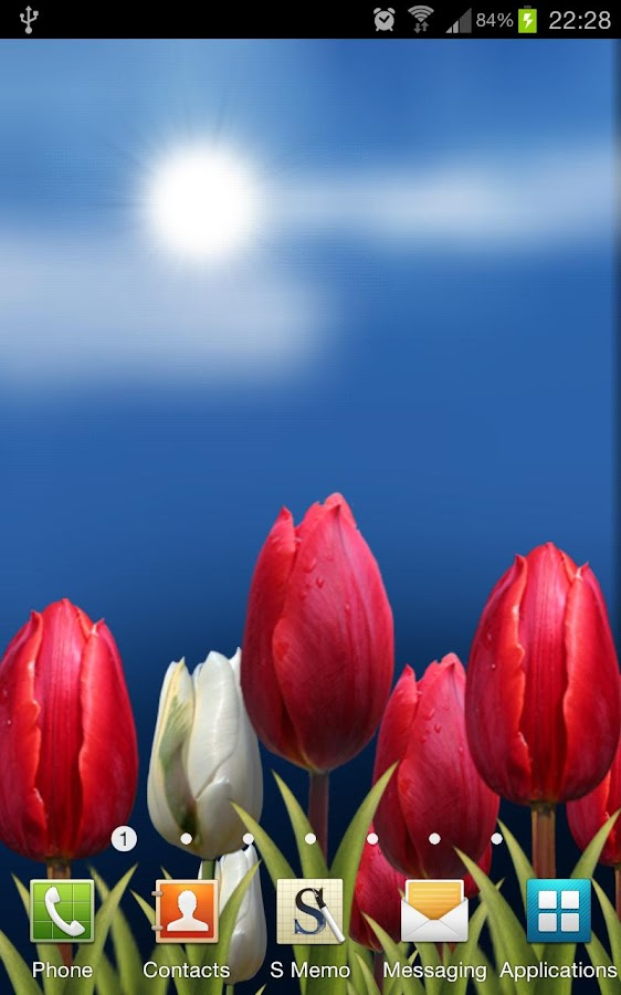 Flowers HD Free Live Wallpaper - screenshot