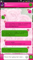 Screenshot of GO SMS - Flower Beauty 3