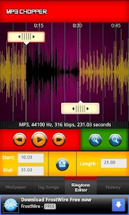 MP3 Chopper & Ringtone Maker - screenshot thumbnail