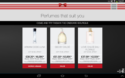 My Perfume Test- screenshot thumbnail