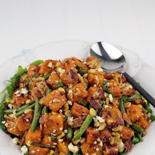 Three Sisters Butternut Squash Salad