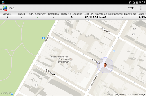 Real-Time GPS Tracker 2- screenshot thumbnail