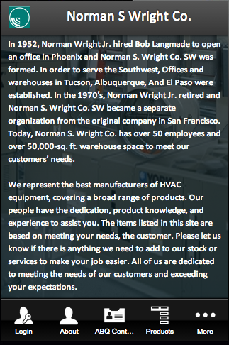 Norman S Wright Co.