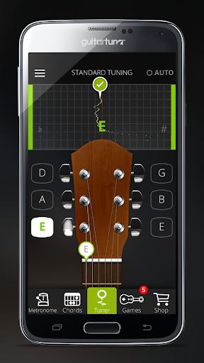 無料 チューナー Guitar Tuna